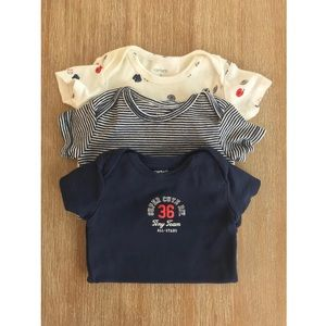 Carter's Bodysuits 3 Pack 3 Month
